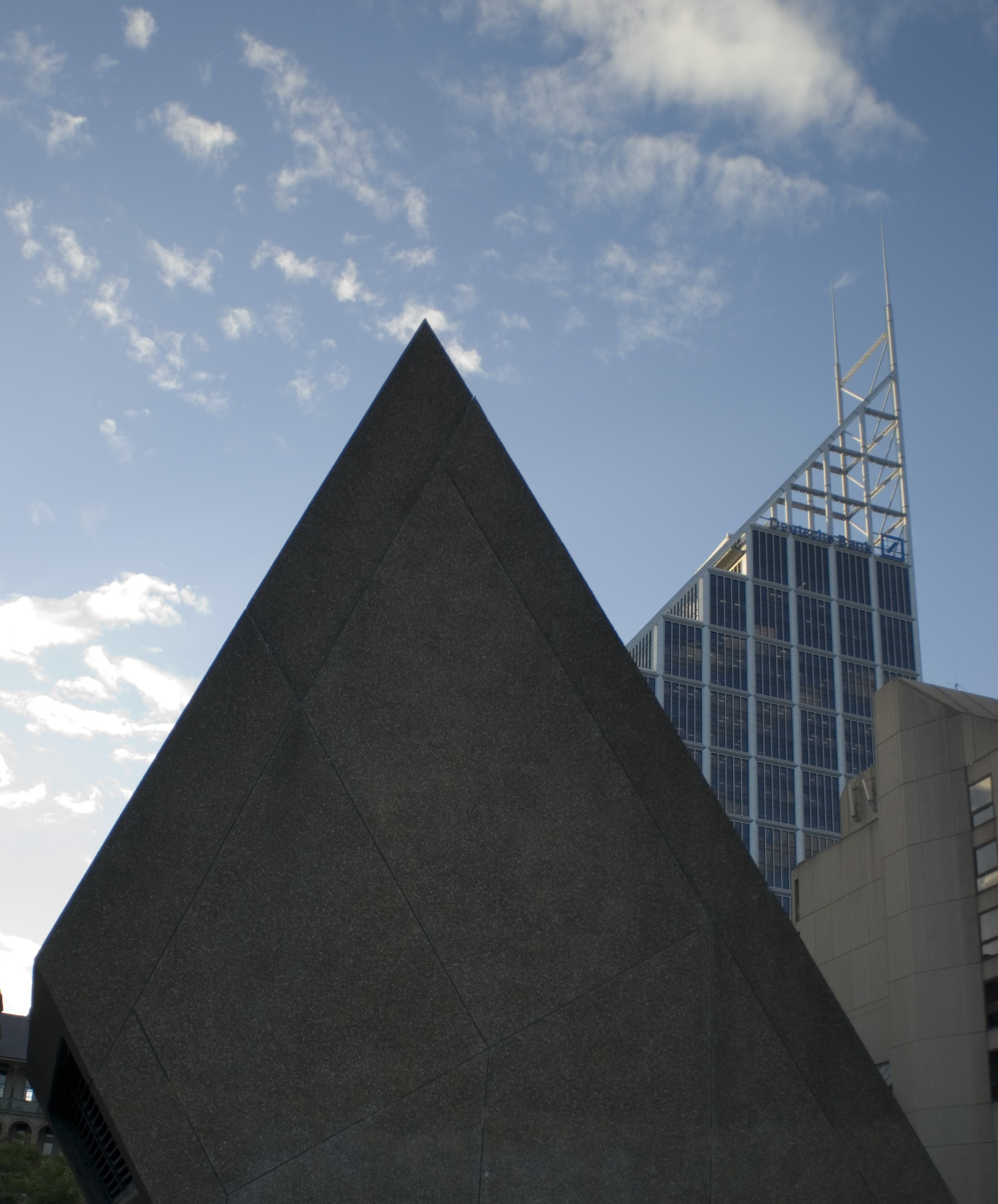 pointed structures in sydney CBD