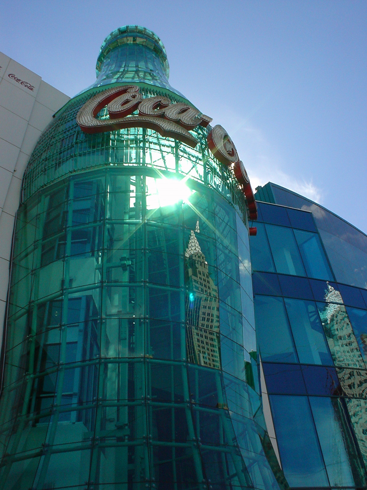 coke bottle building atrium - not property released