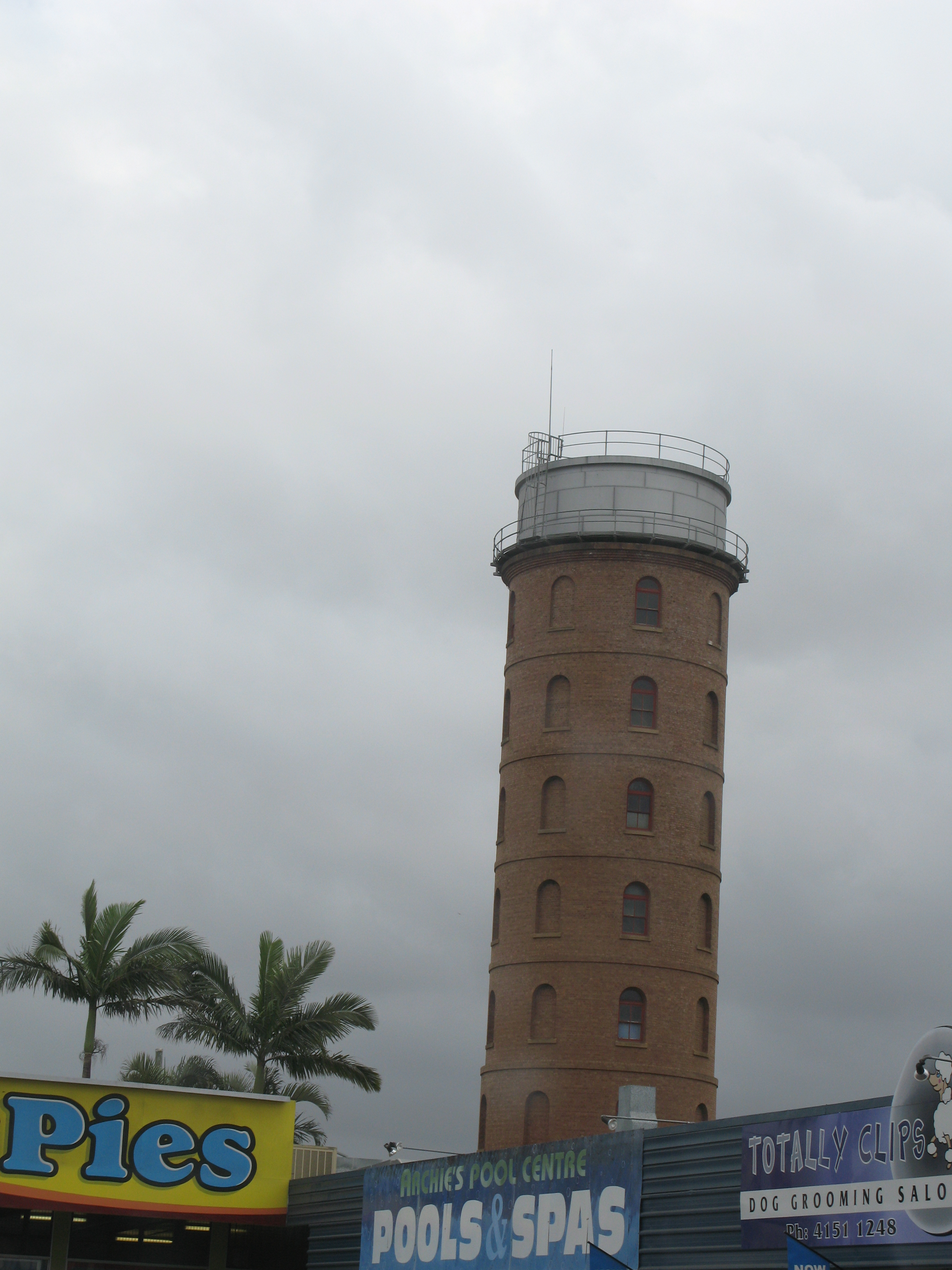 the leaning tower of bundaberg