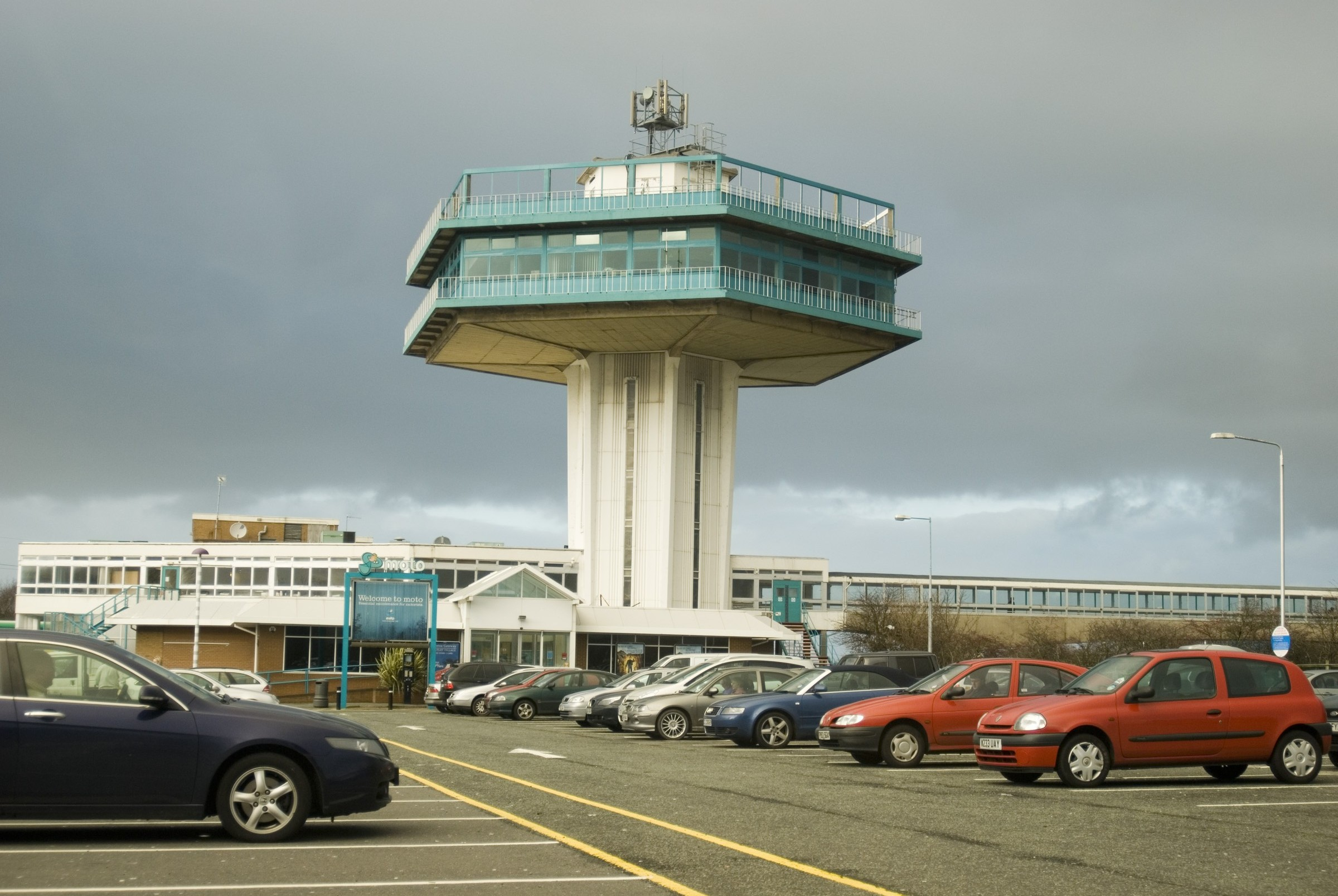 motorway services at forton M6