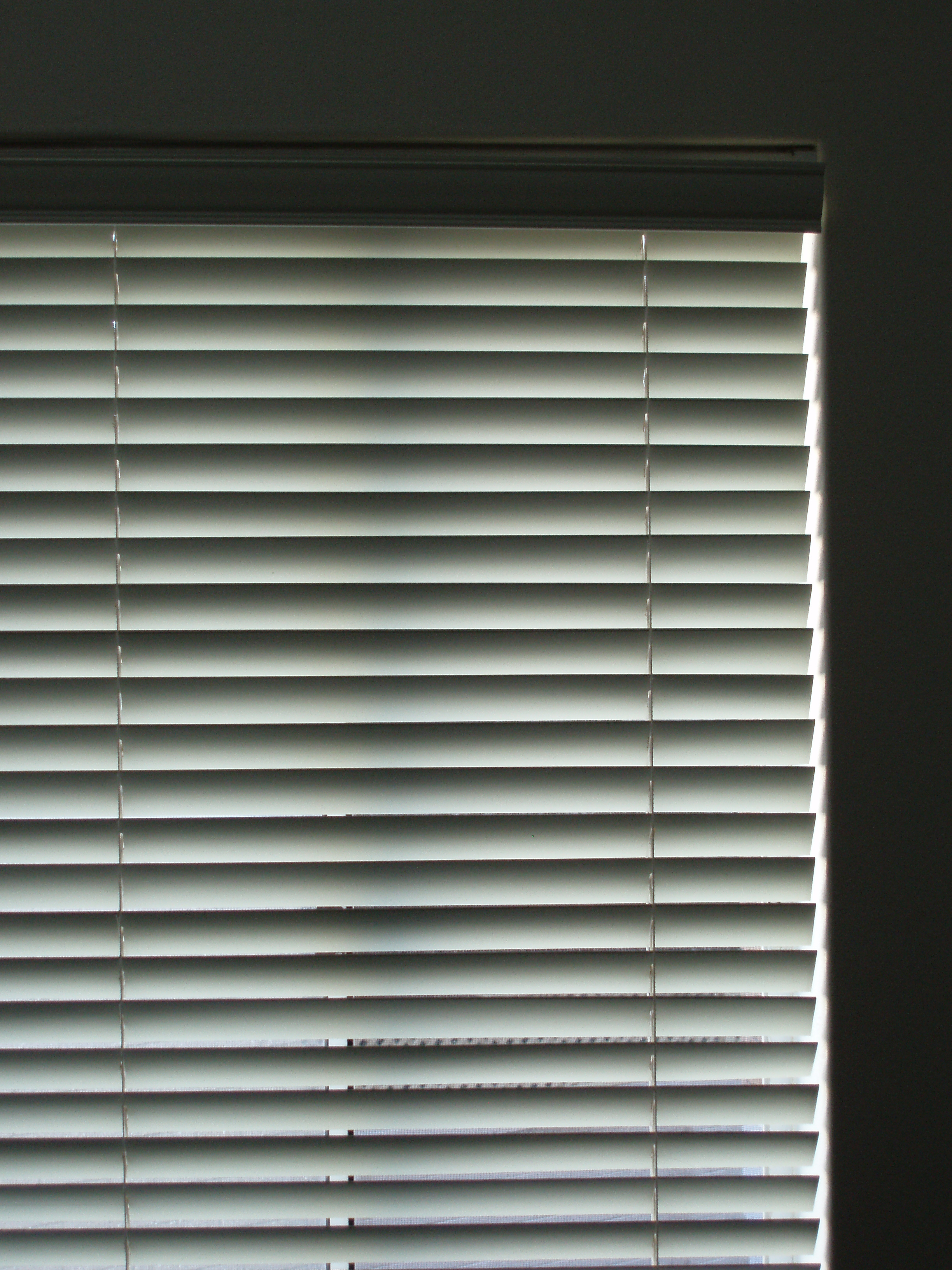 horizontal metal blinds
