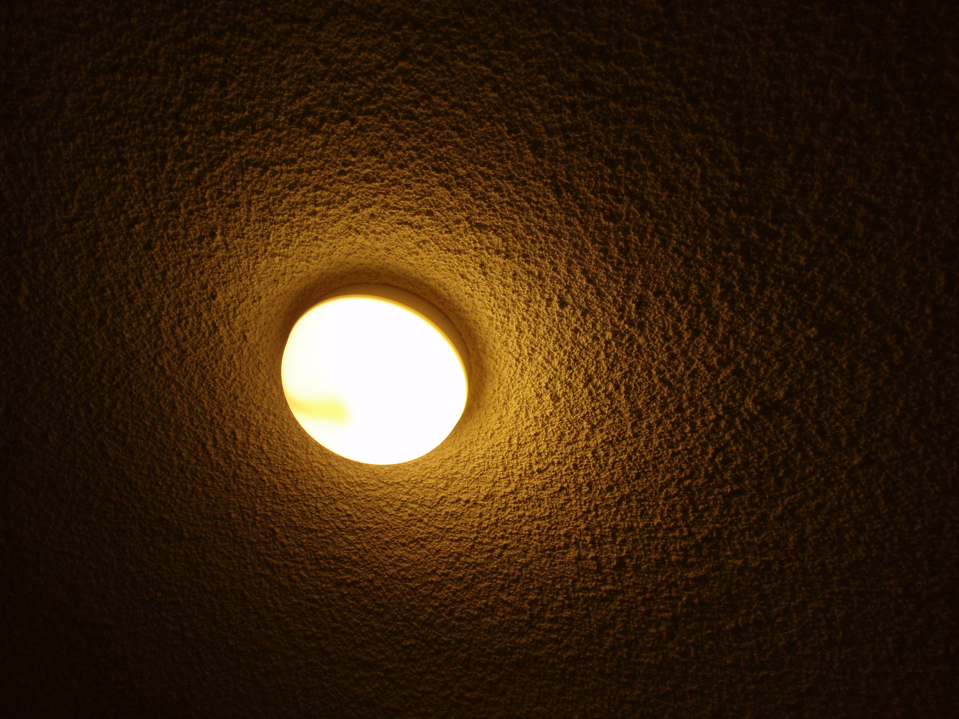 ceiling light, round
