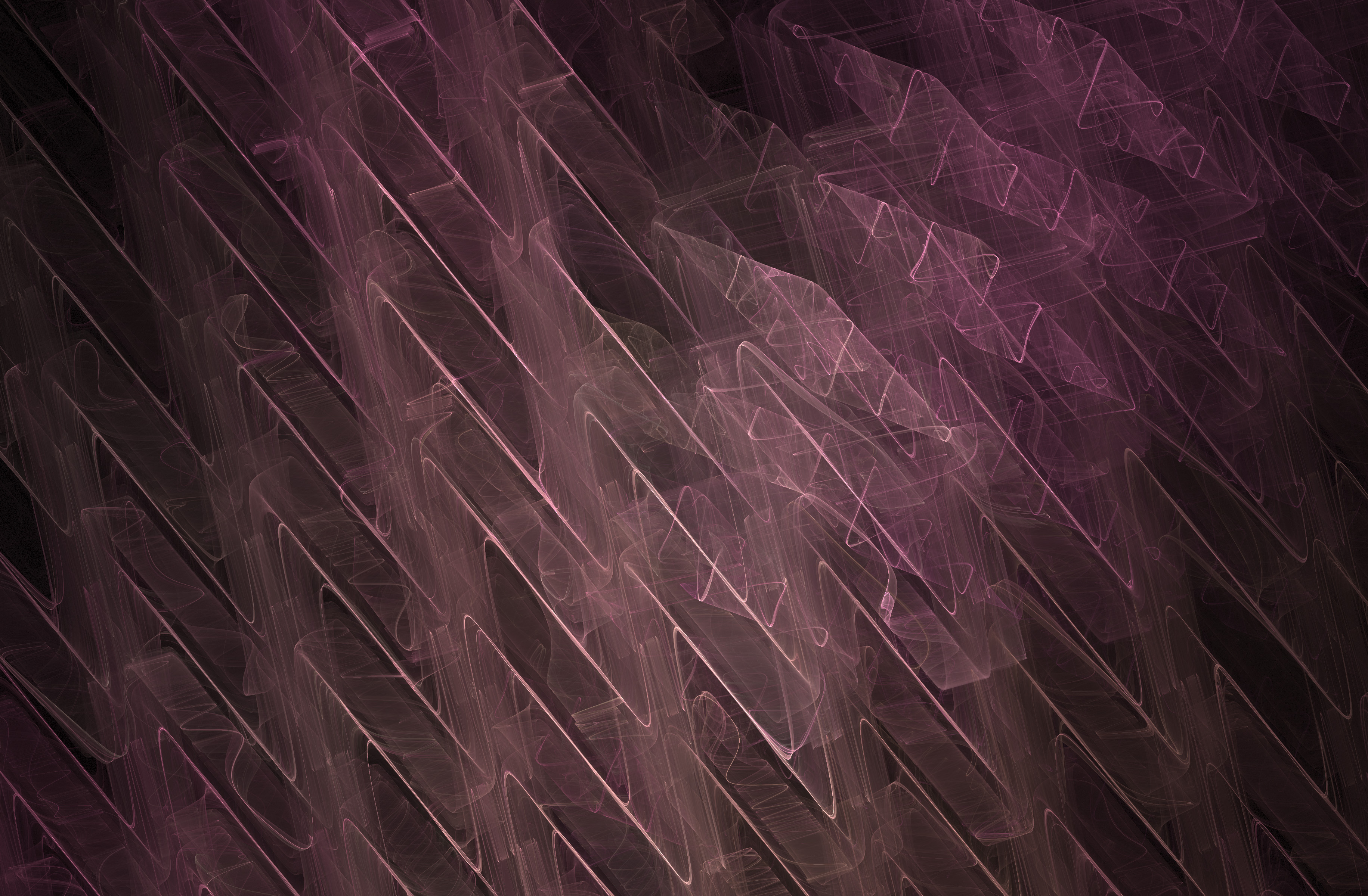 graphic pink cg background with repeating triangle wave like lines