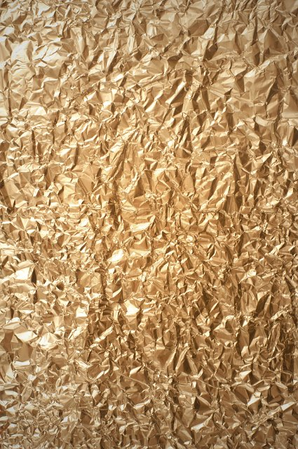 Metallic Gold Foil Background Crumpled Gold Fo...