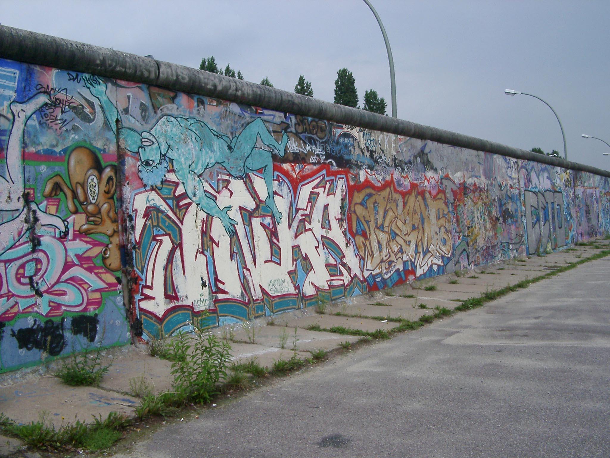 Berlin wall scrawl east berlin germany graffiti graphitti graffiti
