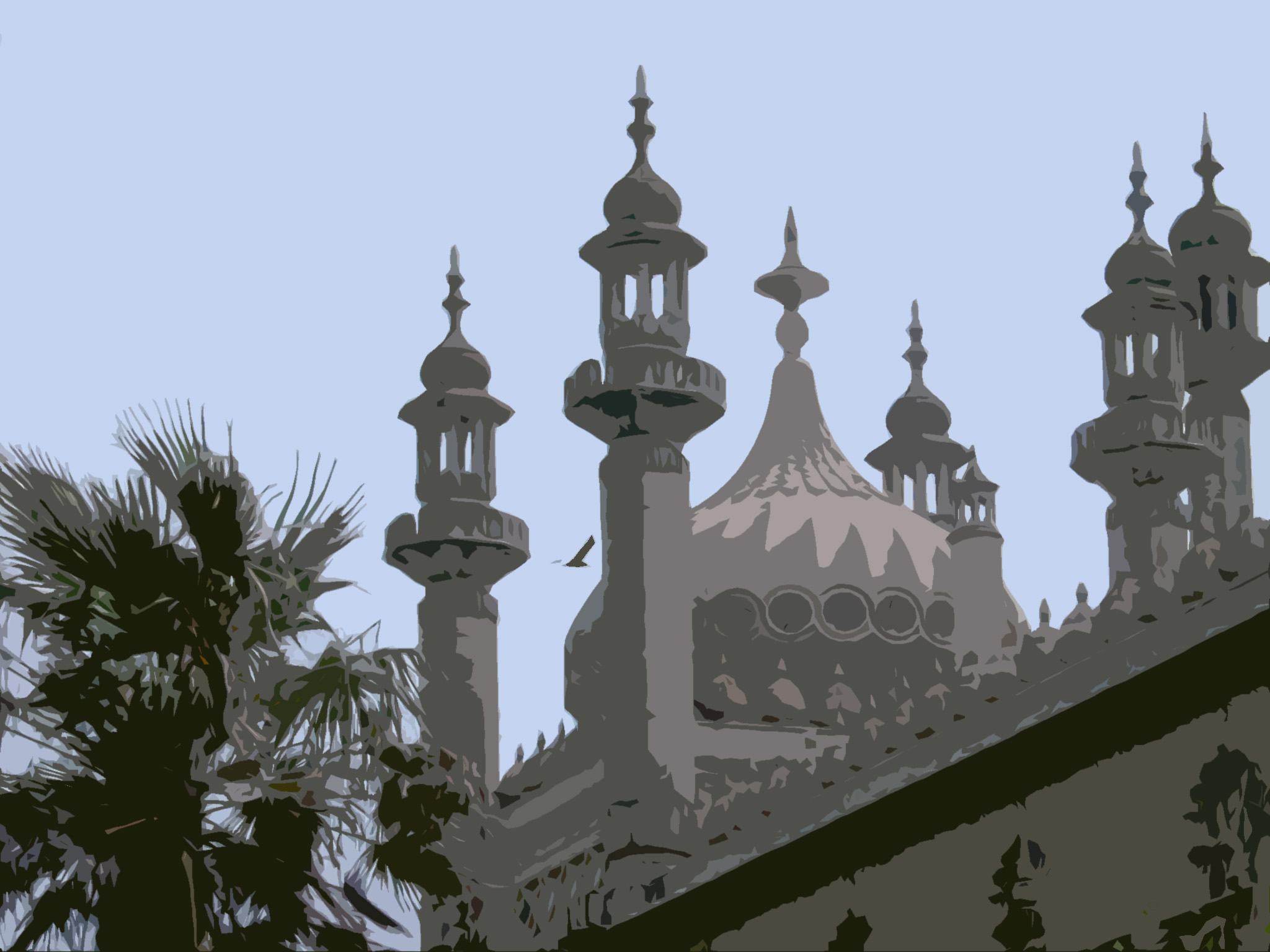 brighton pavilion illustrated