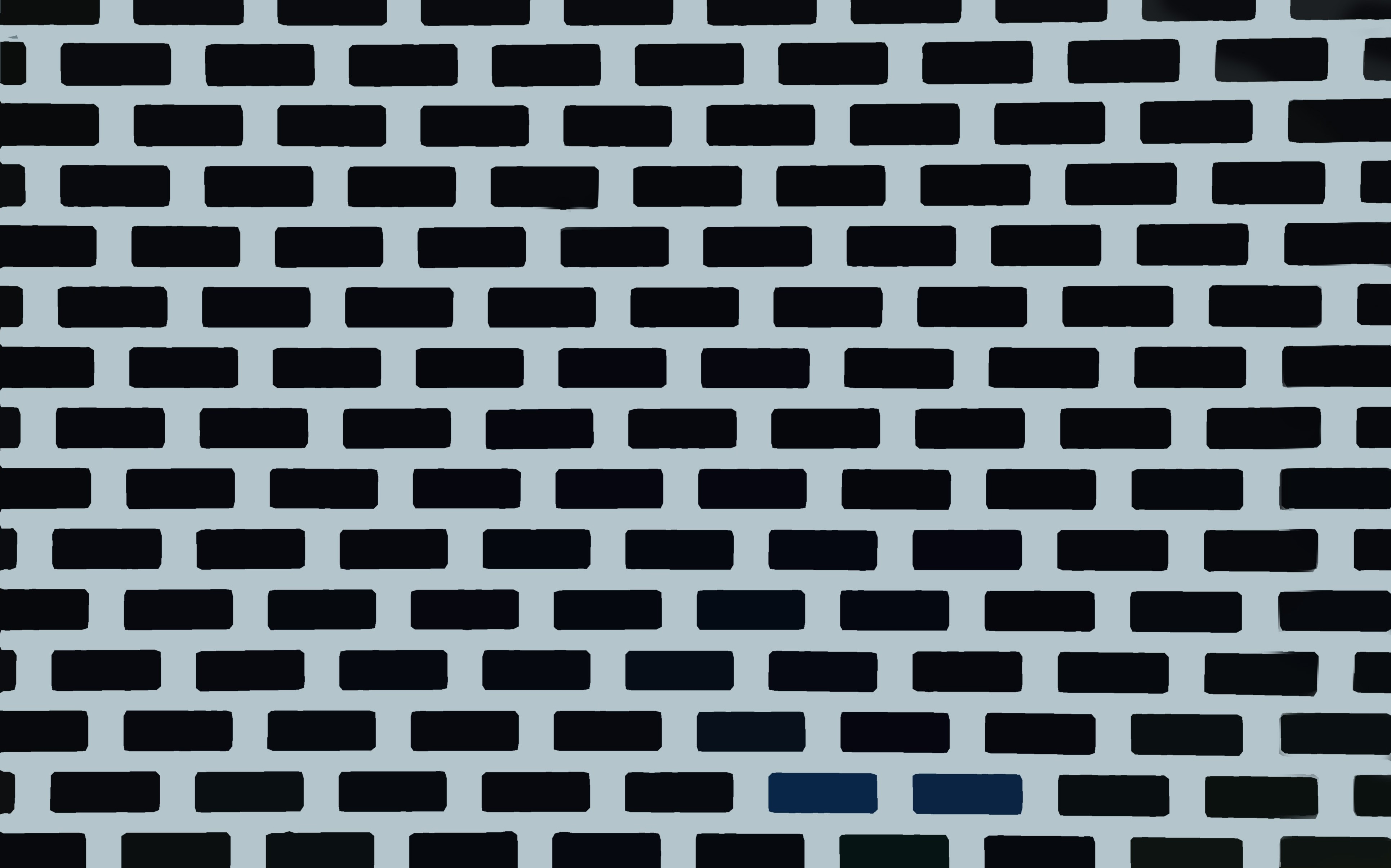 tessellated rectangles brick pattern wall