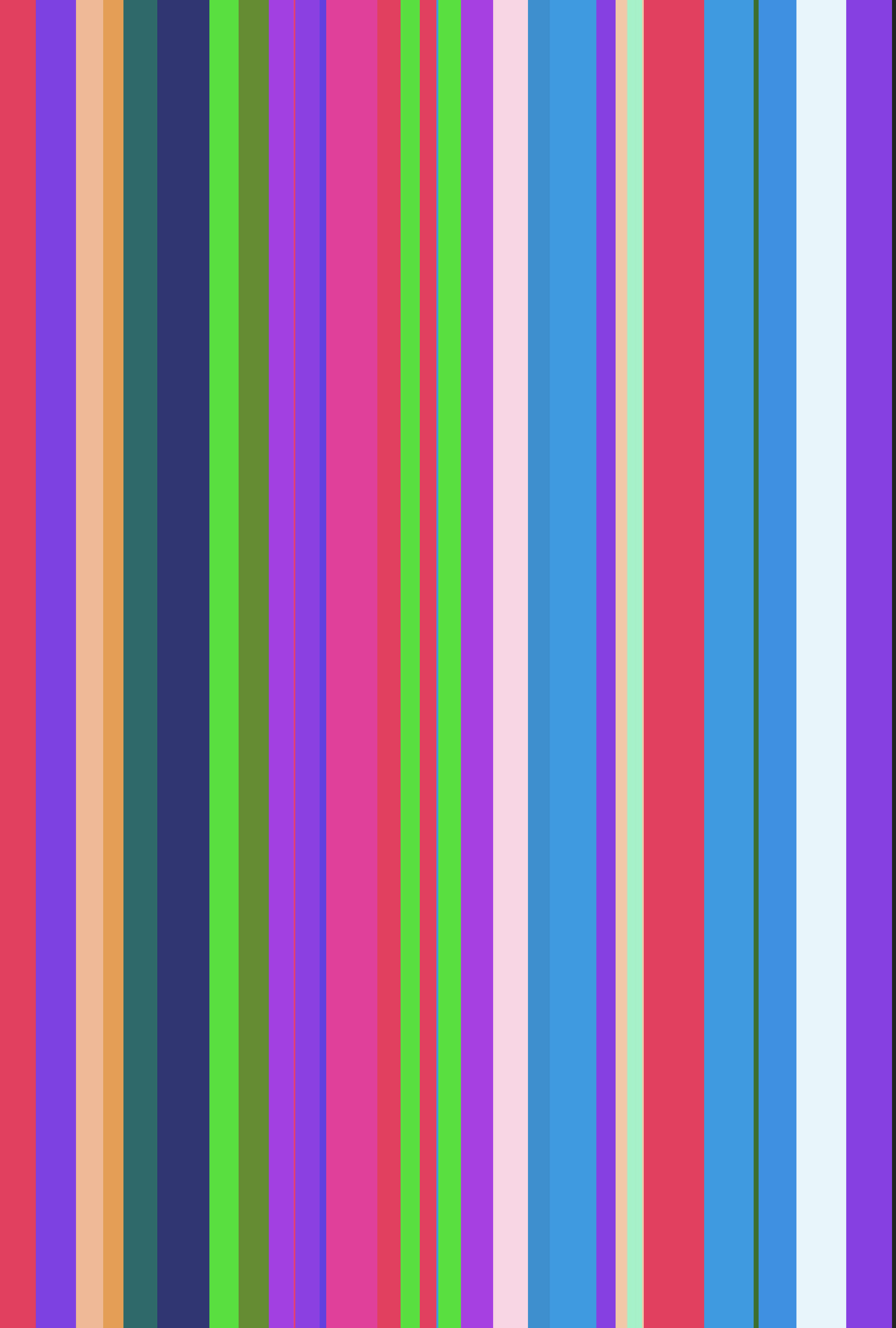 background of colourful vertical random thinckness lines