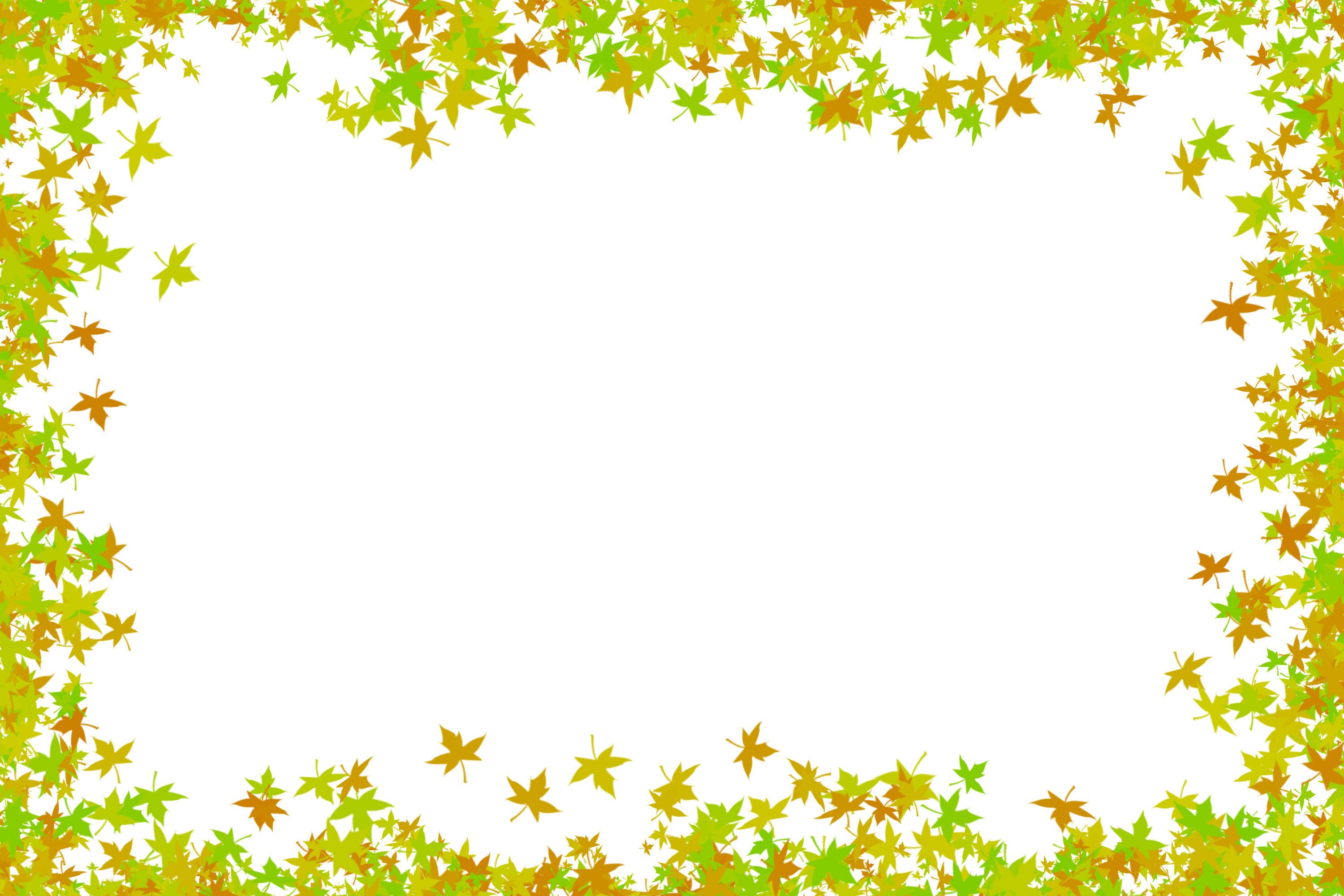 maple leaves frame | Free backgrounds and textures | Cr103.com