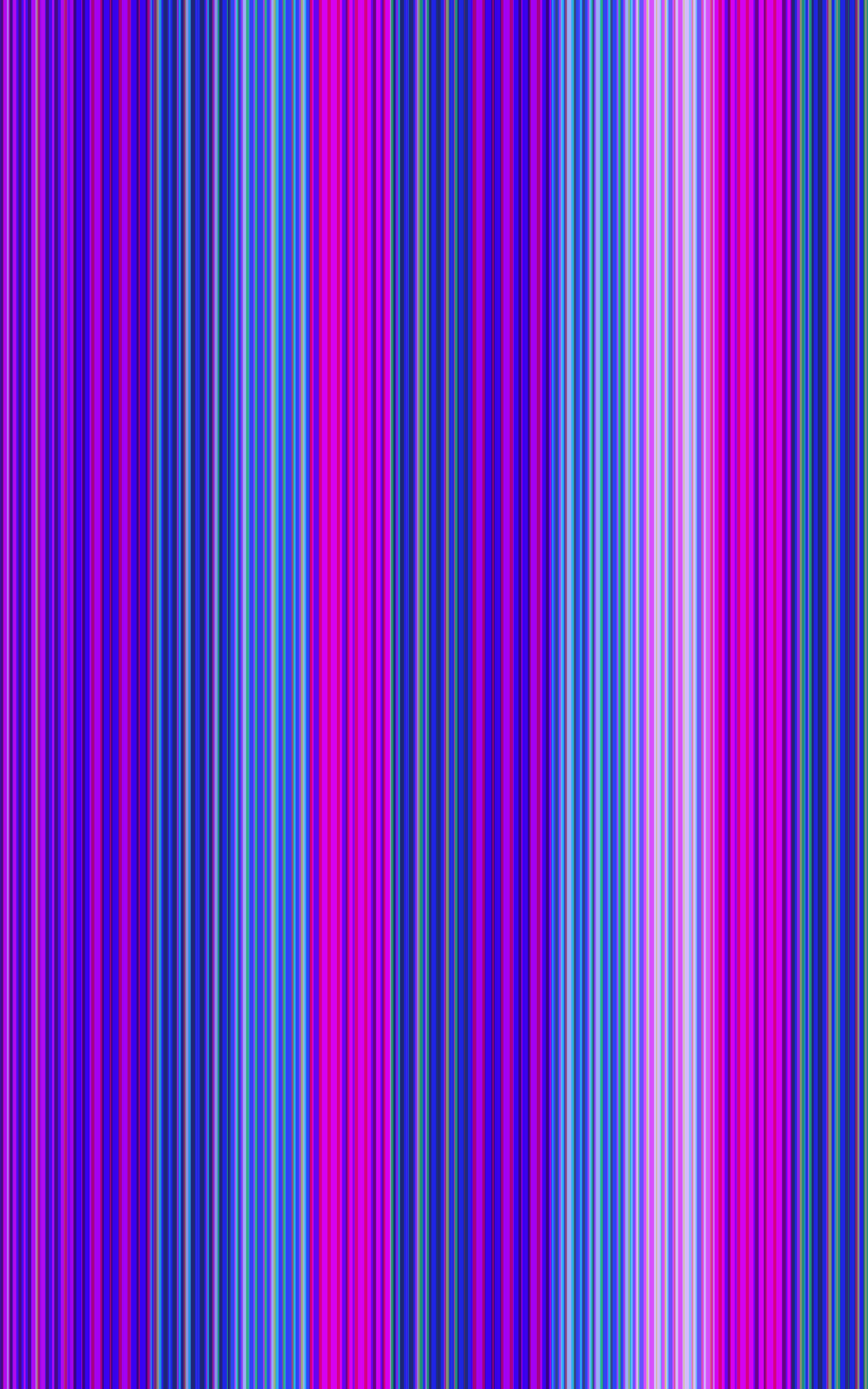 a vertical purble and cyan banded background with thick and thin lines