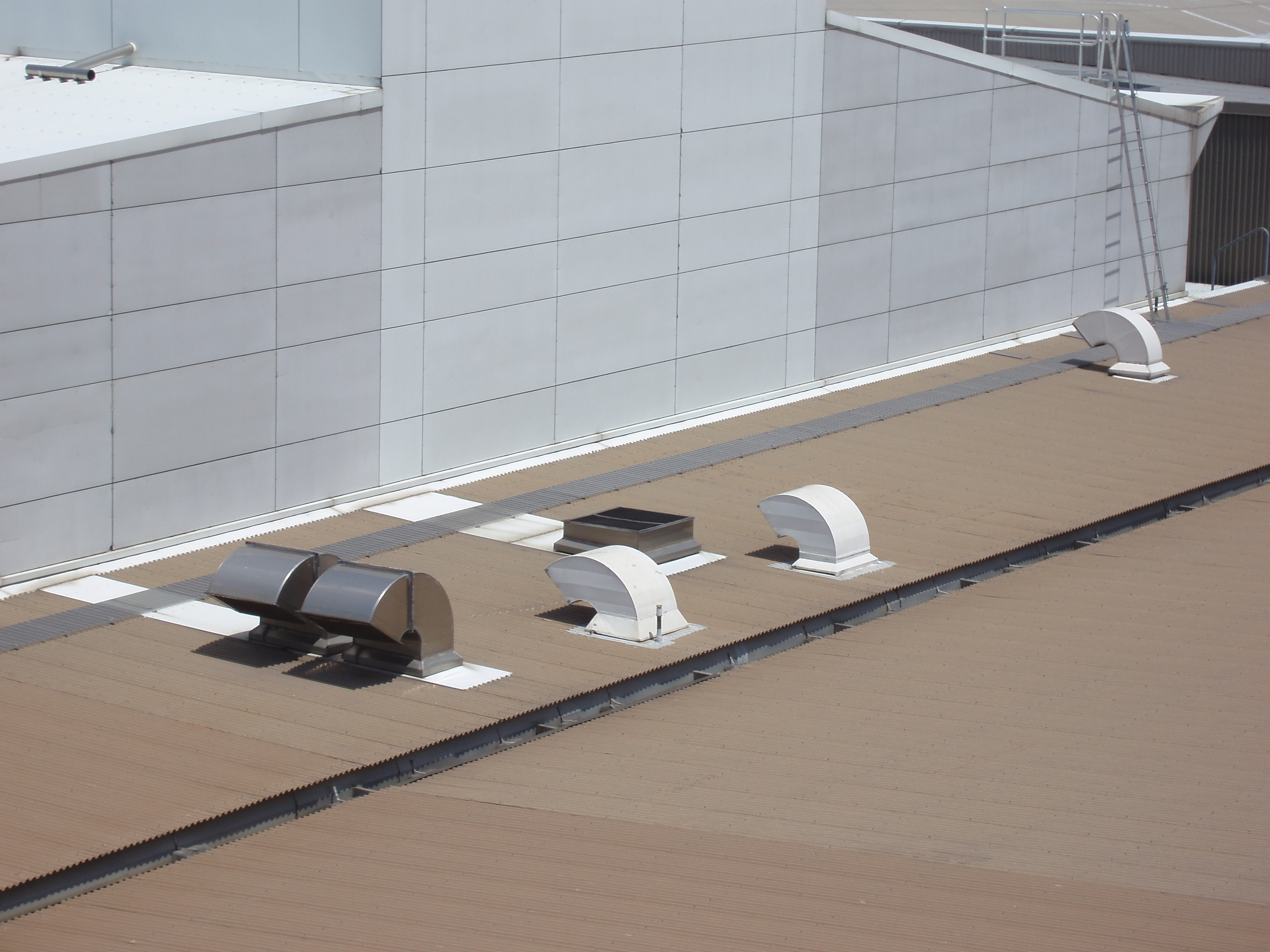 Download image Industrial Roof Vents PC Android iPhone and iPad  #6A5B4F