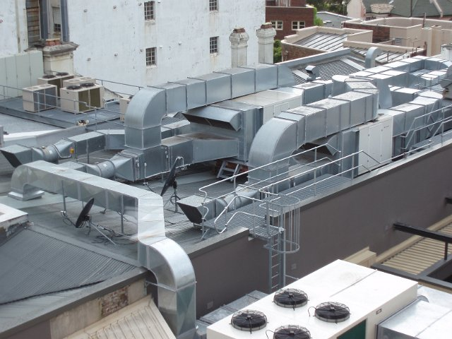 air conditioning duct system