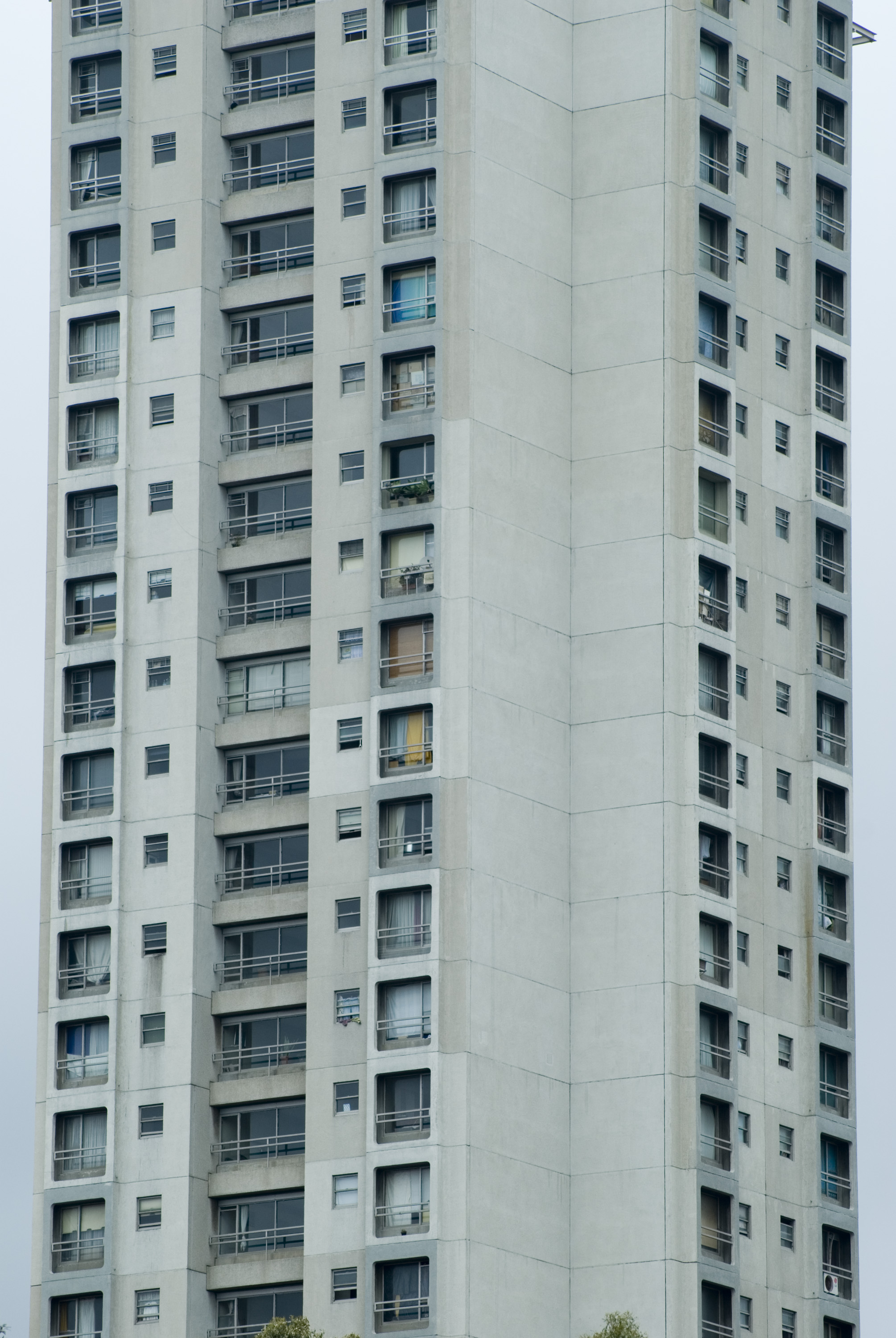 concrete towers, urban living