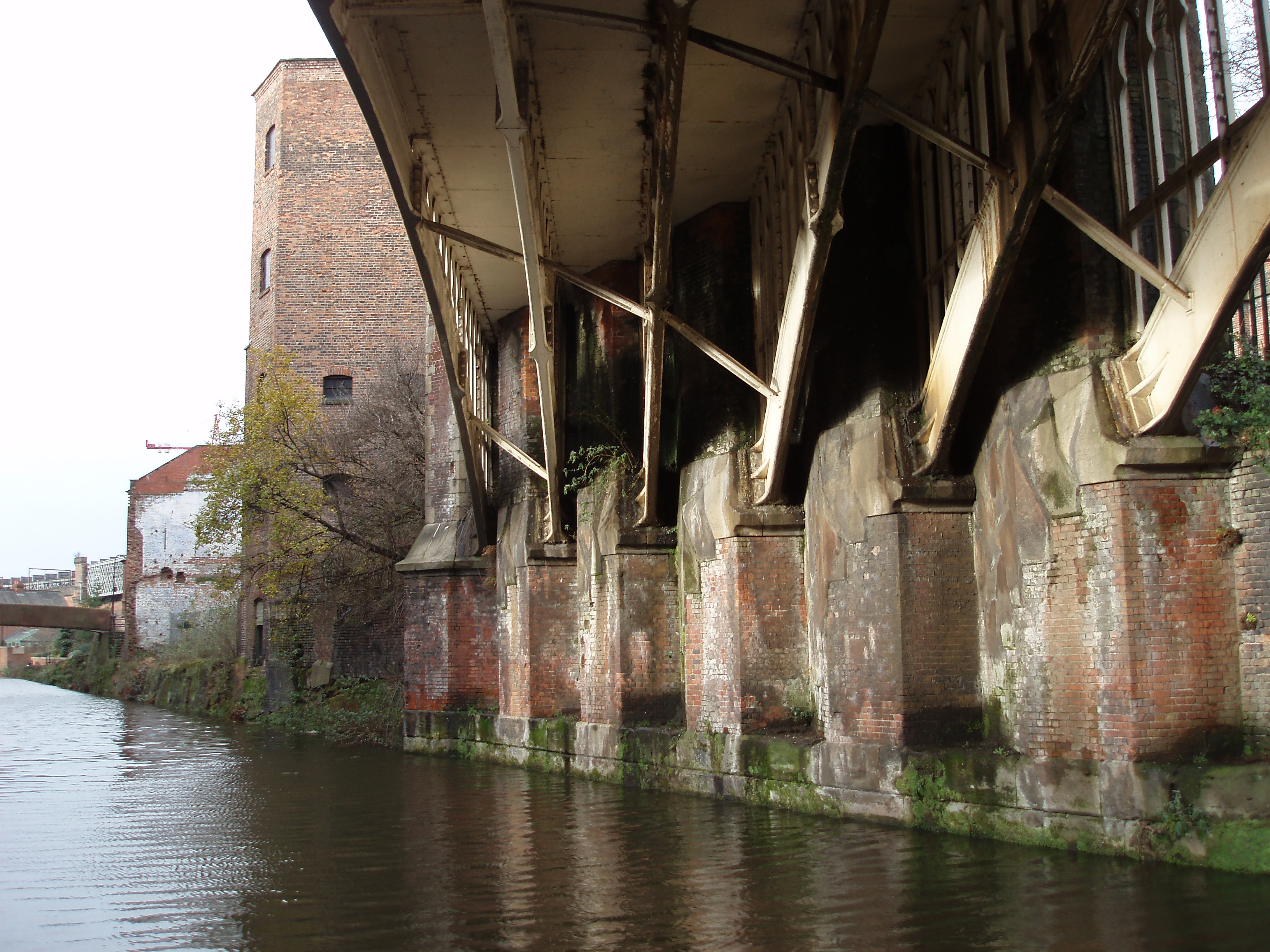 manchester industrial canal heritage