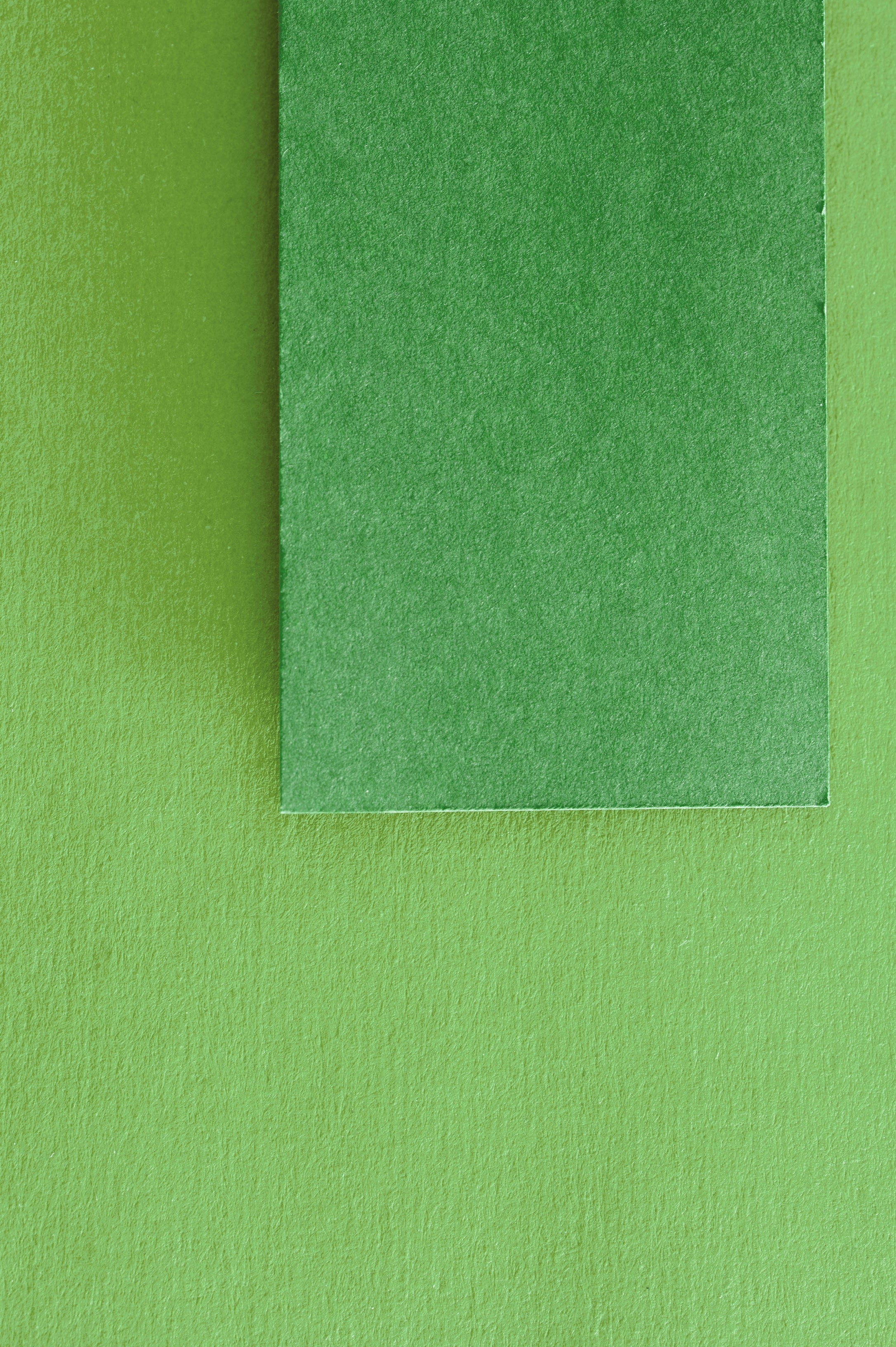 green paper tag