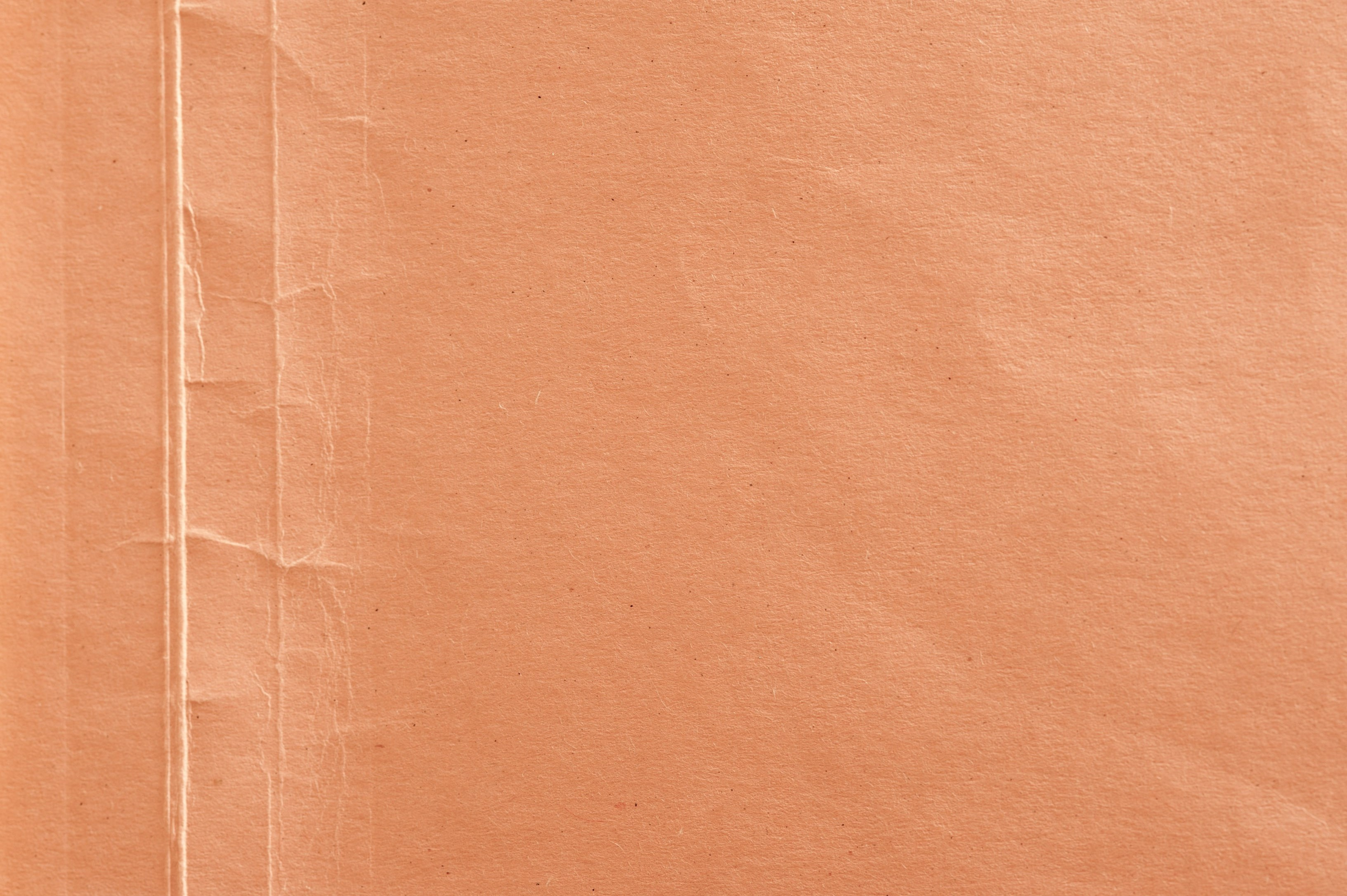 creased folded orange card texture