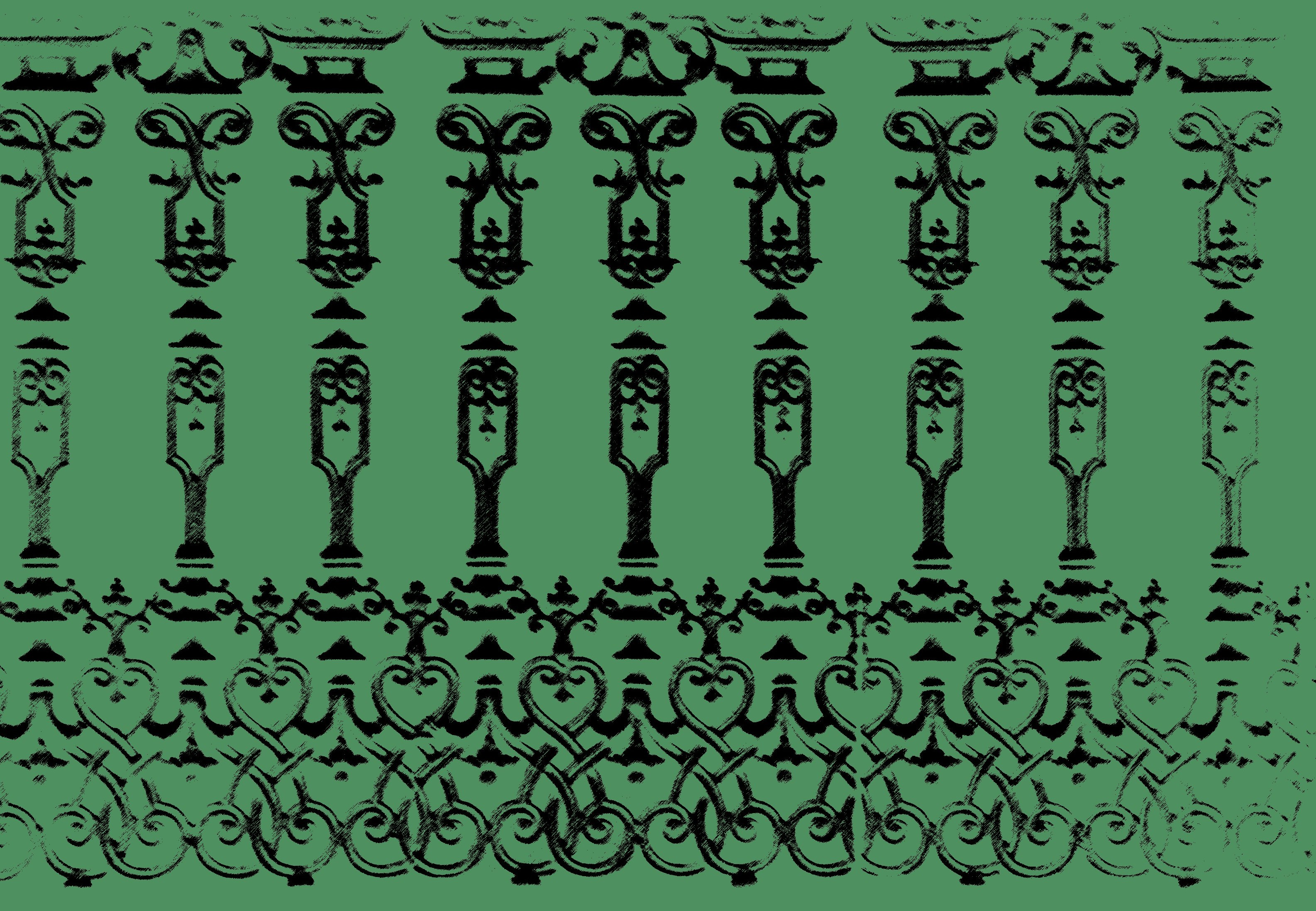 Decorative iron work stamp free backgrounds and textures cr103 cast iron fence panel design baanklon Choice Image