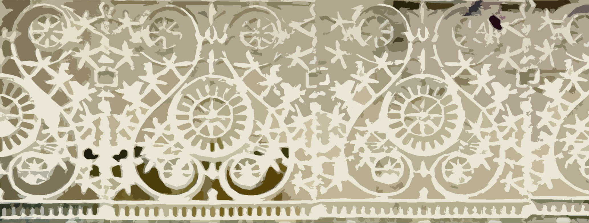White cast iron panel free backgrounds and textures cr103 cast iron fence panels baanklon Choice Image