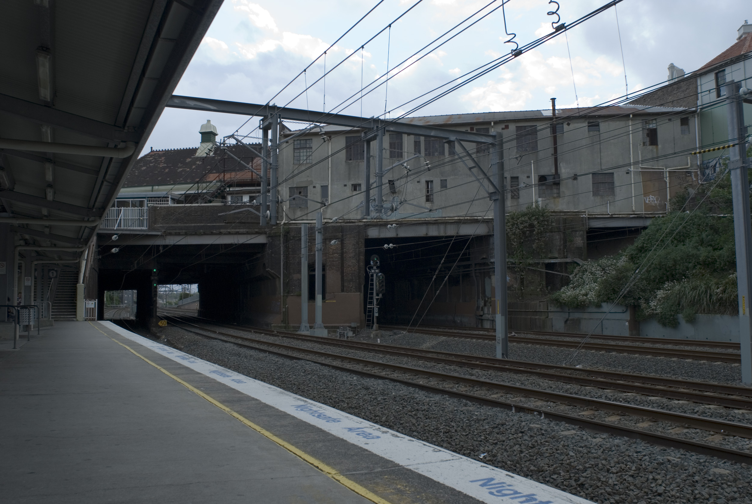deserted station at newtown