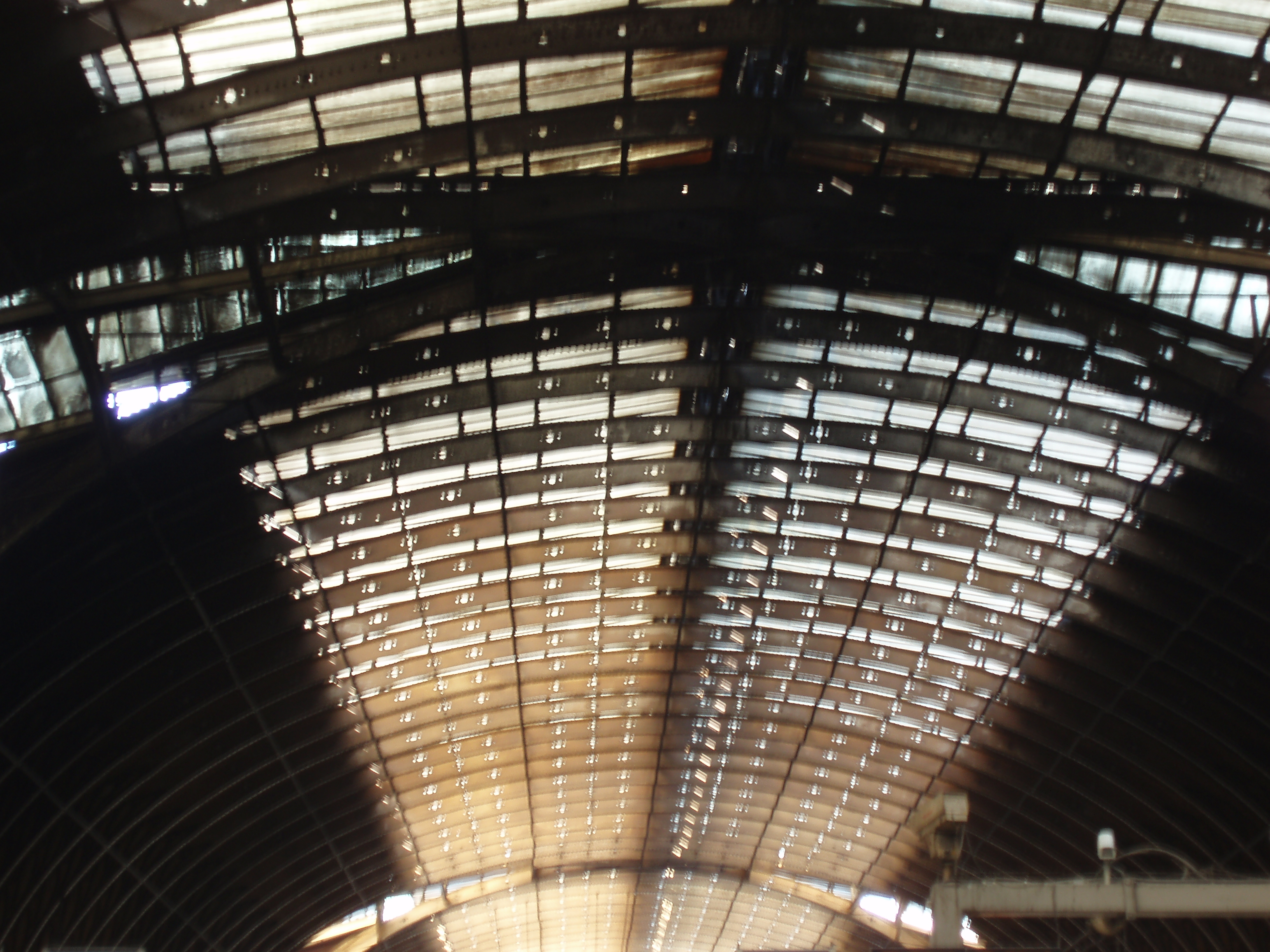 railway station victorian roof