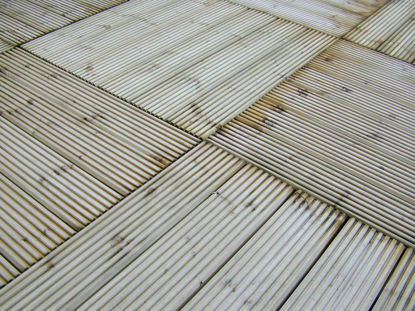 Wooden Decking March 2012