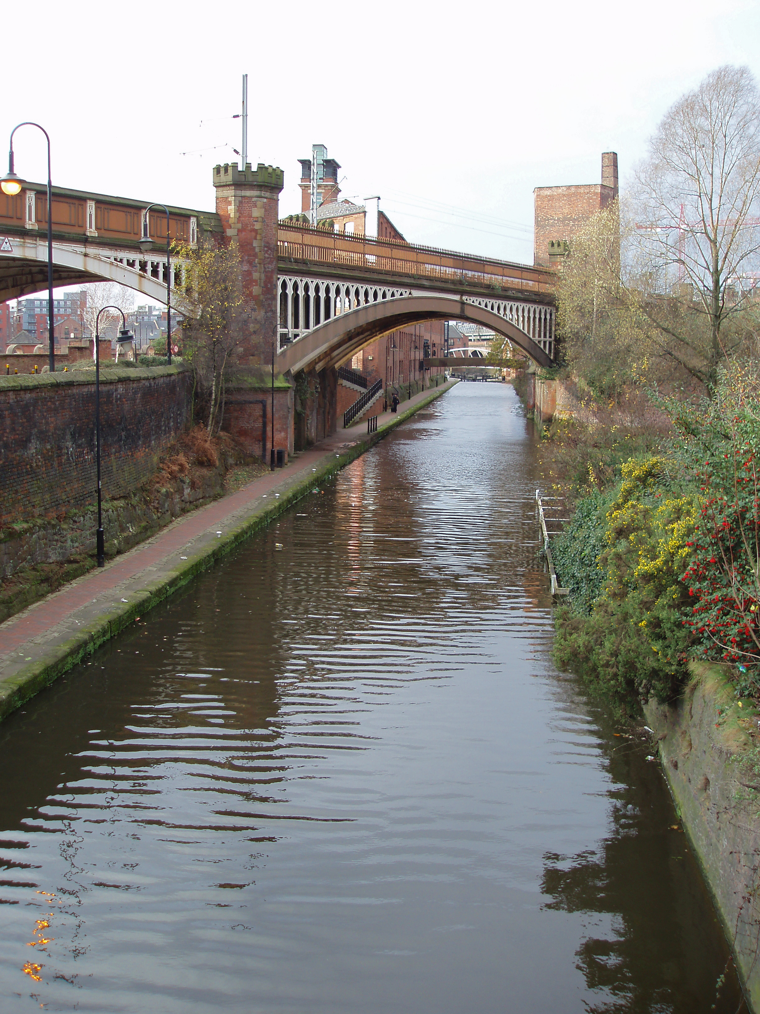 mancunian industrial revolution canals