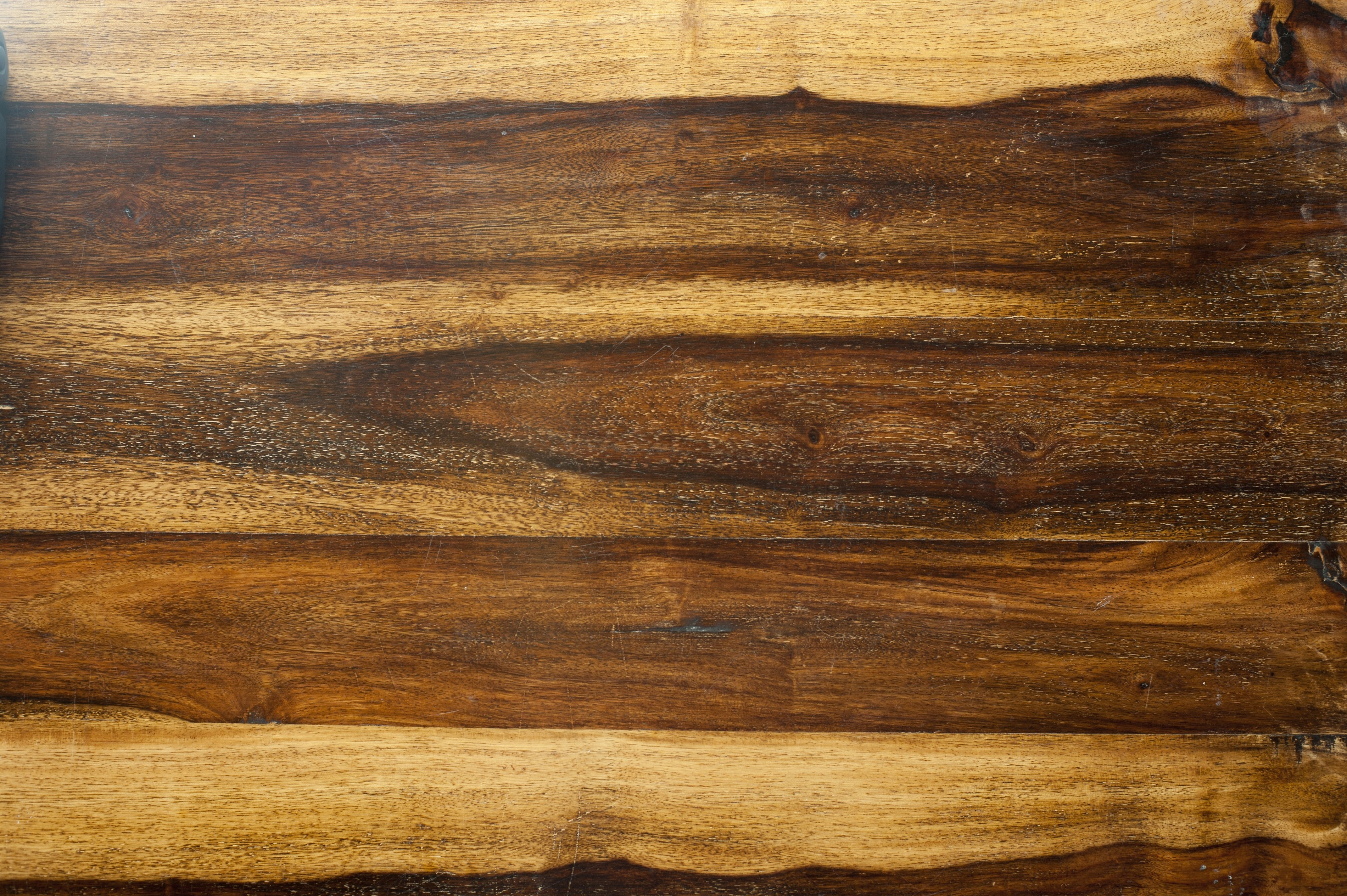 planed dark and light wood grain background