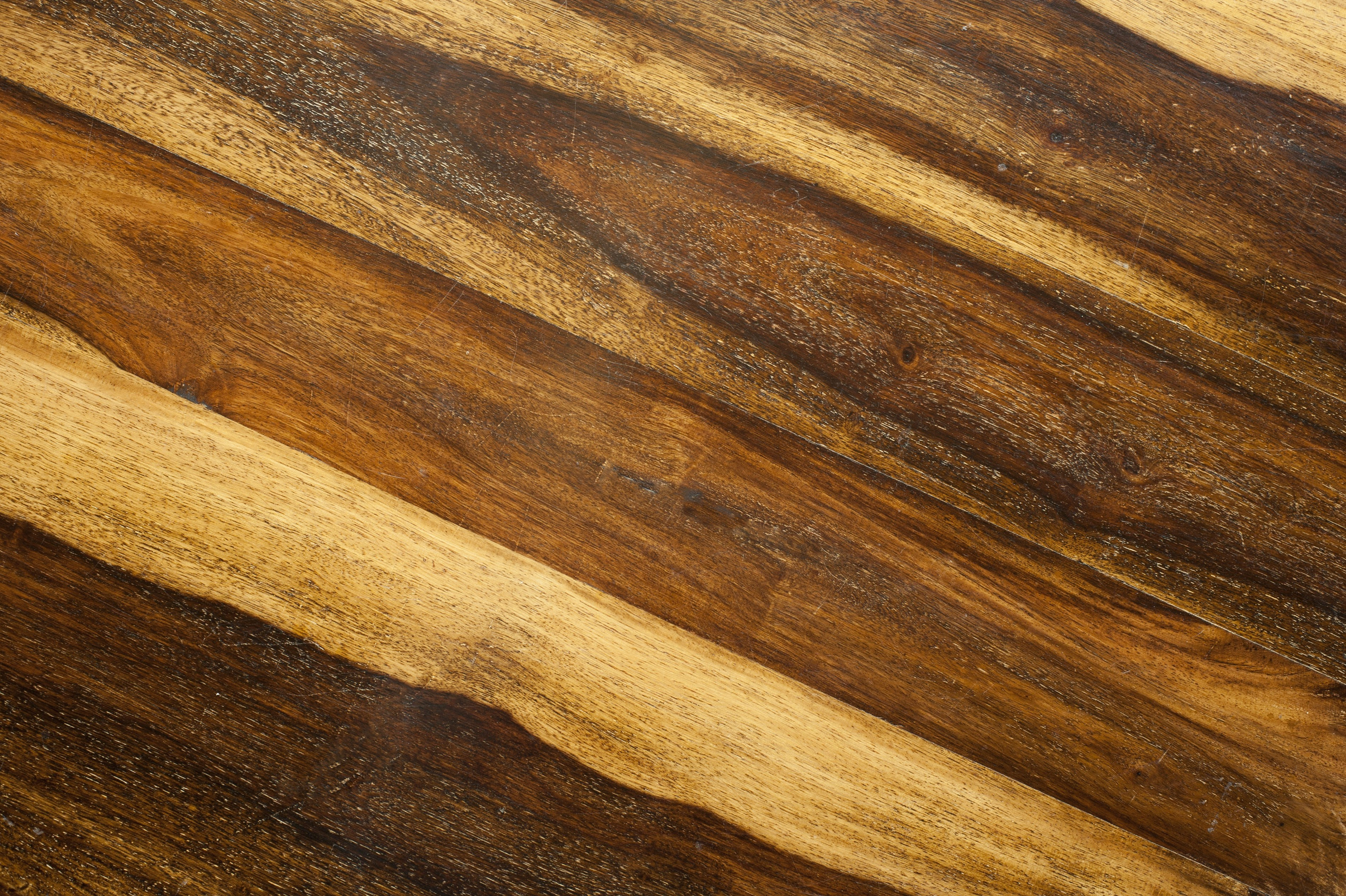 Wood Grain Texture With Light And Dark Brown Lines