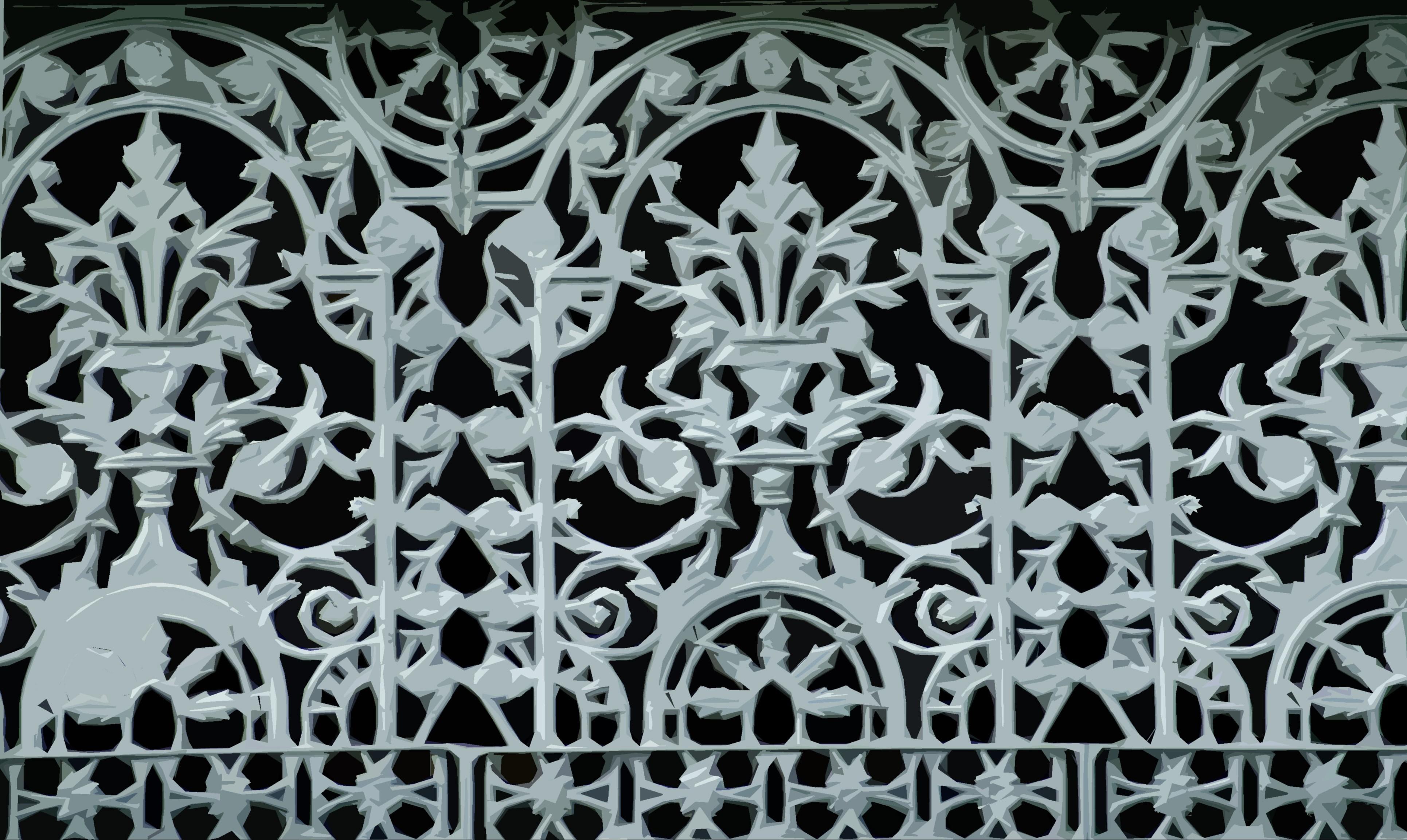 Cast Iron Fence Panels Cutout