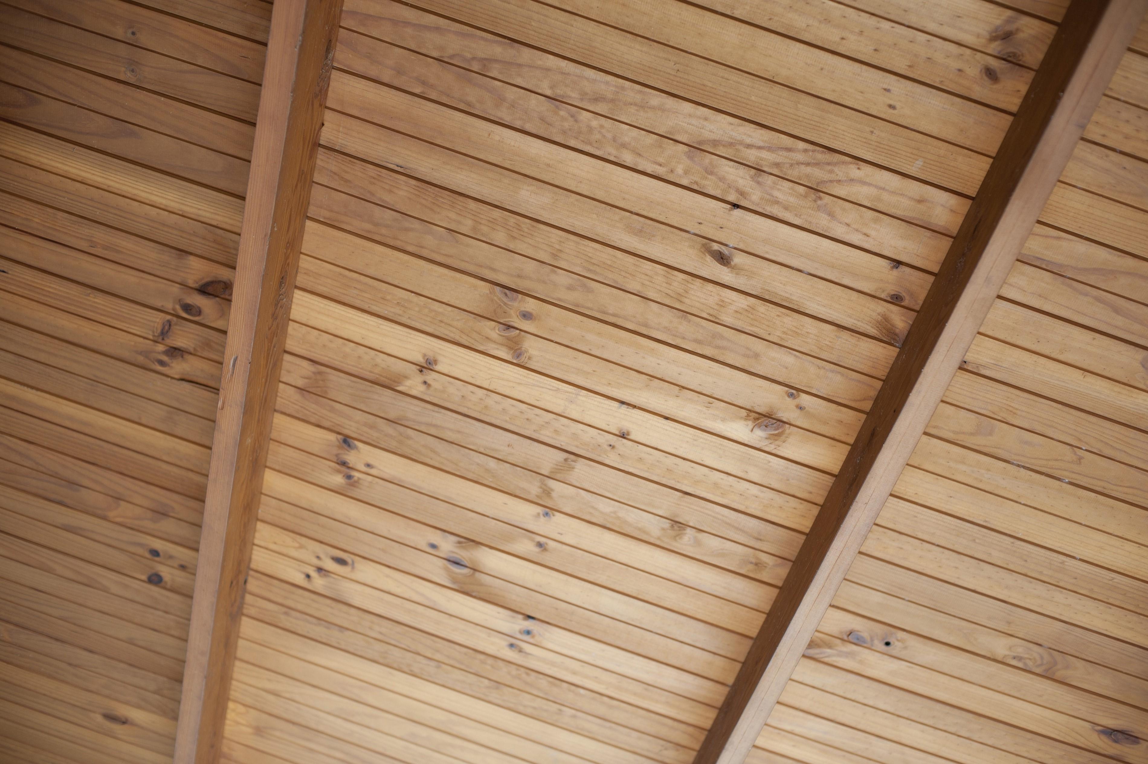 Wood Panels Ceiling